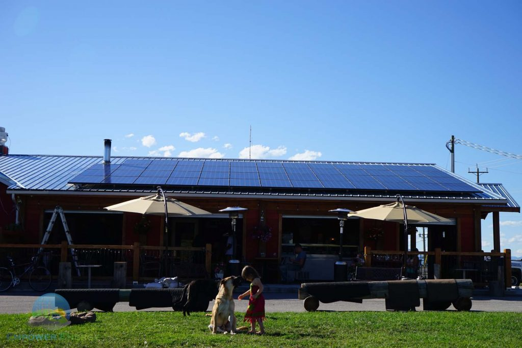 Commercial Solar PV by Empower Energy Alberta and BC