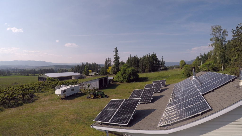 Armstrong BC Residential Solar PV by Empower Energy