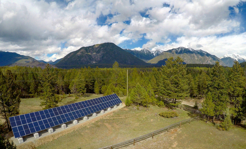 Fort Steele BC Residential Solar PV by Empower Energy