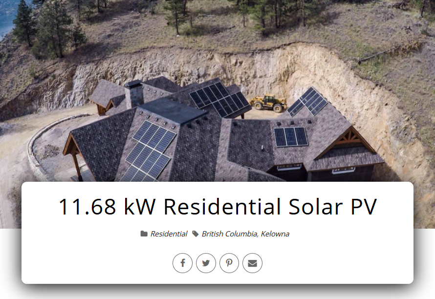 Kelowna Solar Power