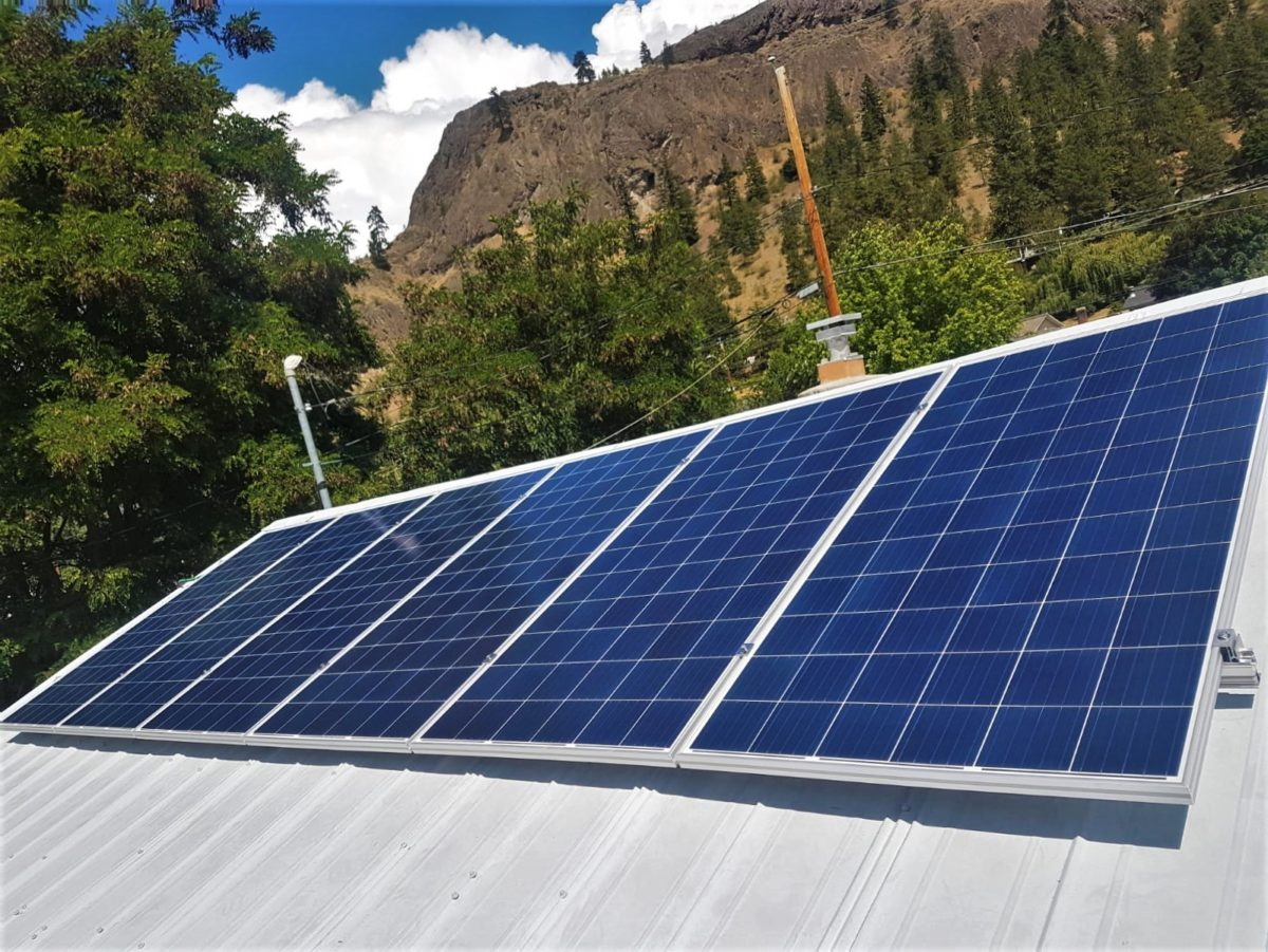 Residential Solar PV in BC Summerland by Empower Energy