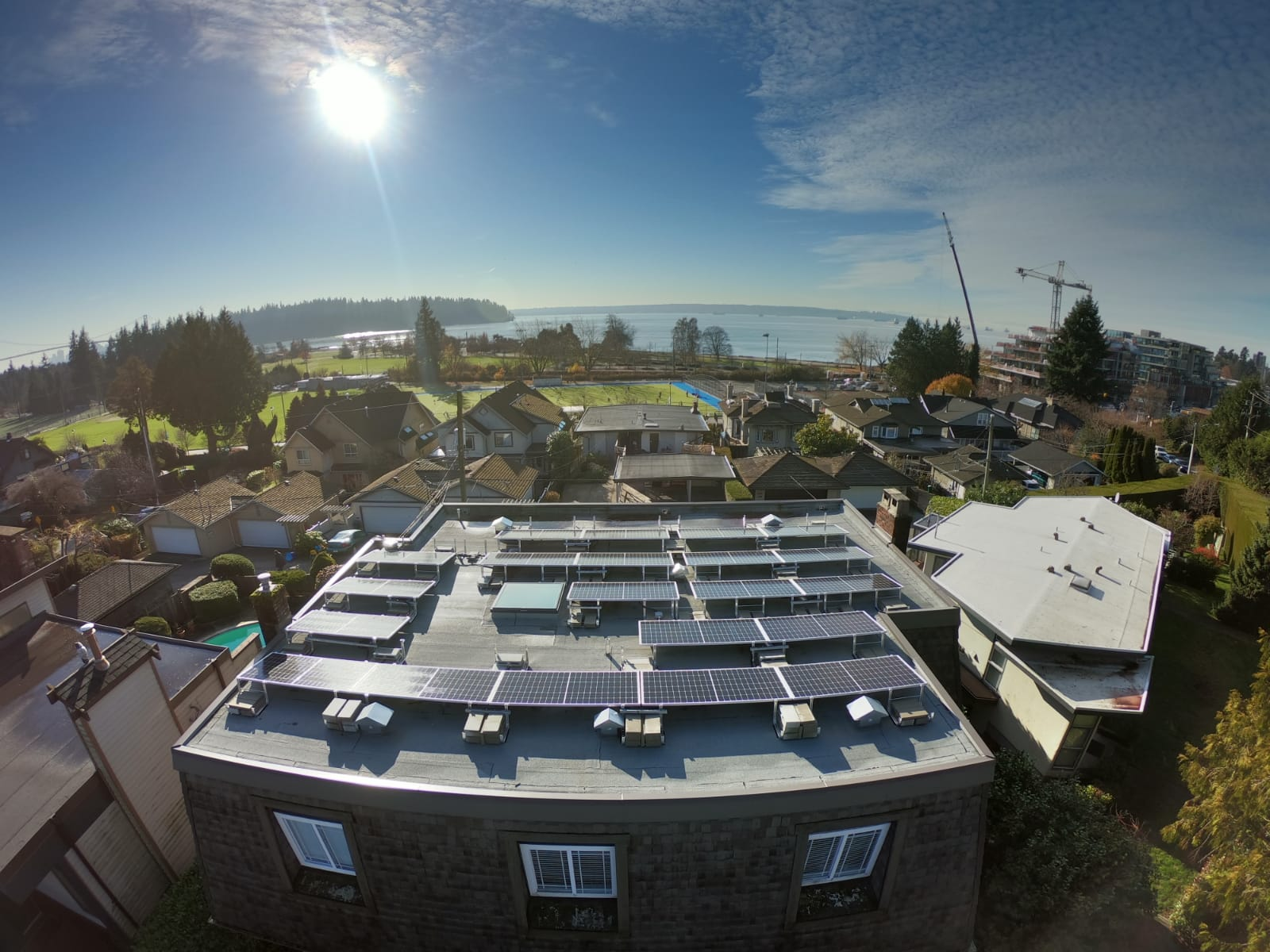 Solar PV in West Vancouver BC by Empower Energy