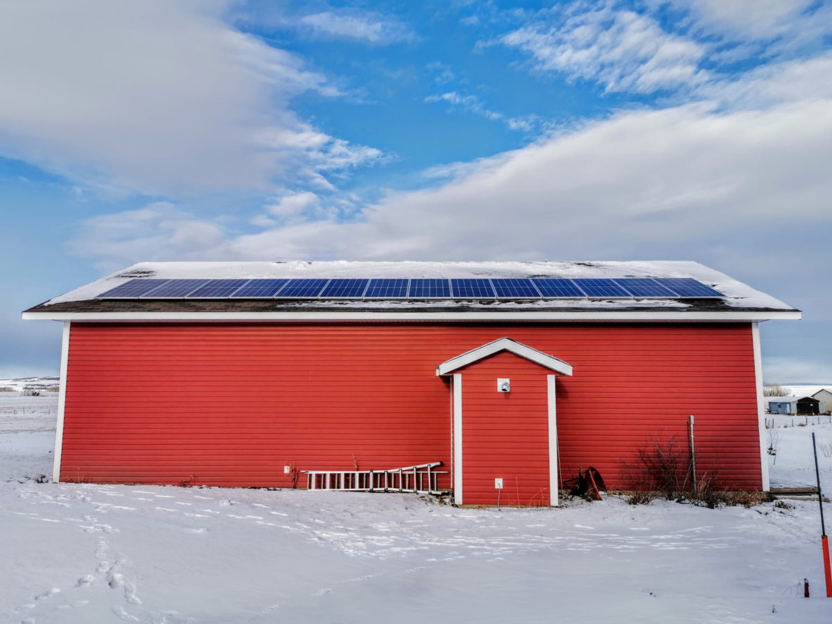 Residential Solar PV in AB Sexsmith by Empower Energy