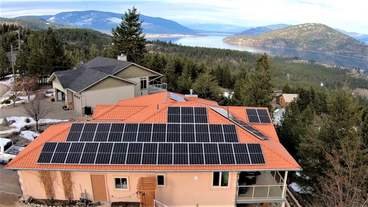 Solar PV in BC Vernon by Empower Energy