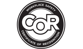 Solar Power Company - Workplace safety COR logo